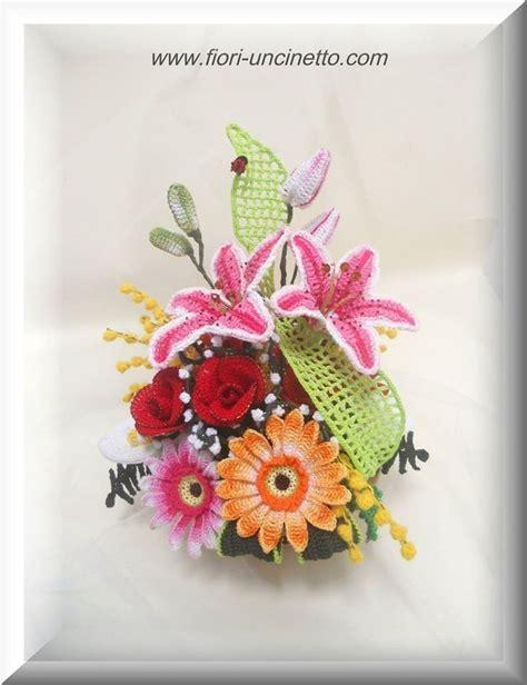 fiori al uncinetto uncinetto fiori 17 best images about fiori uncinetto di