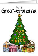 christmas cards  great grandma  greeting card universe