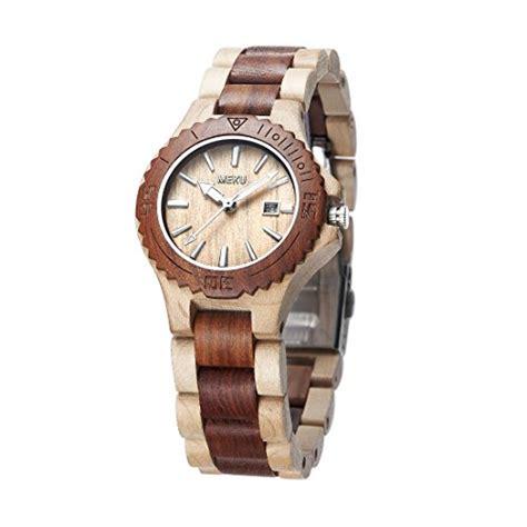 Handcrafted Watches - meku women s handcrafted wood wrist sandalwood