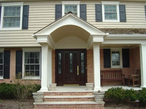 porch vs portico porticos photo slideshow