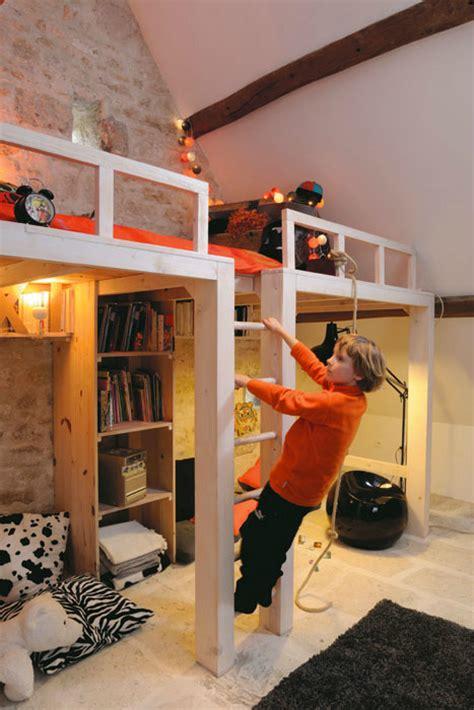 kids bedroom loft ideas awesome attic loft kids bedroom decoholic