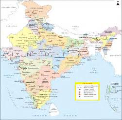 Map Of India Cities by India Map With Cities Related Keywords Amp Suggestions