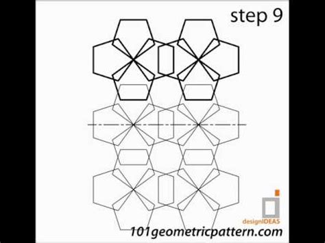 youtube geometric pattern how to create geometric pattern tutorial pattern 1 youtube