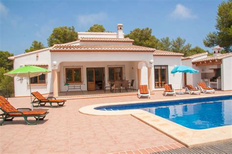 holiday appartments in spain 4 bedroom holiday villa rentals javea alicante costa
