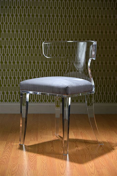 Design Acrylic Dining Chairs Ideas Acrylic Chair Mecox Gardens