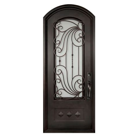 iron doors front doors exterior doors the home depot