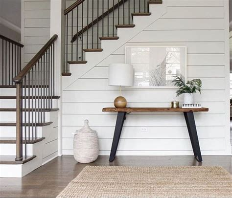 Foyer Built Ins Just The Bee S Knees Trendy Tuesday Shiplap