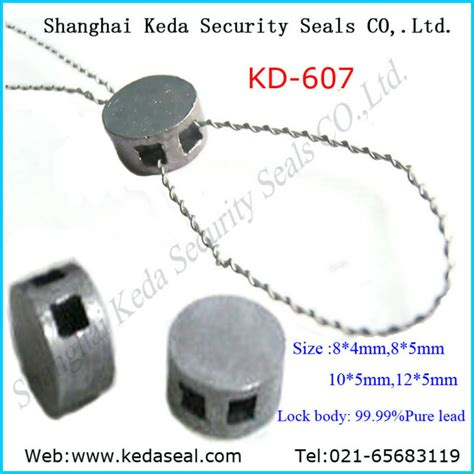 stainless steel wire lead seals 7 strands stainless steel wire sealing wire for