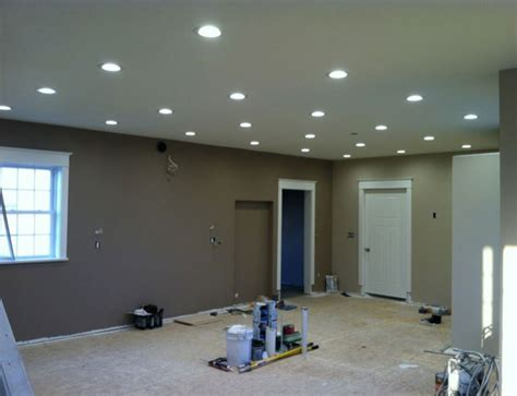Recessed Lighting How Many Recessed Lights In A Room