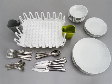 design milk dish rack the ilo clam shell dish drainer by scott jarvie design milk