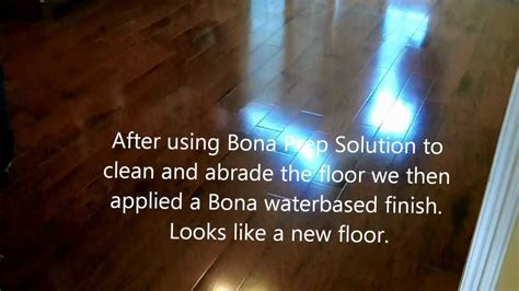 Bona Recoat (Before & After) HD   YouTube