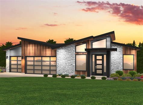 contemporary 3000 sq ft modern house plans modern house