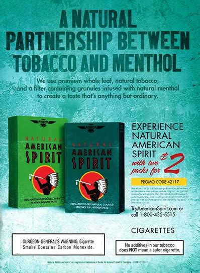 Light Blue American Spirits by Caign For Tobacco Free