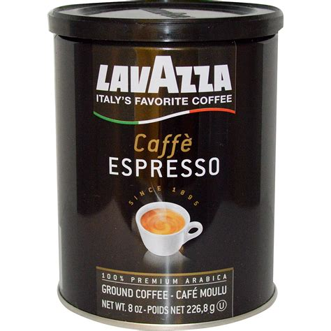 Lavazza Premium Coffees Ground Coffee Caff 232 Espresso 8
