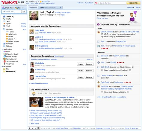 Yahoo Profile Search By Email Yahoo Inbox Gets Social Opens Up To Third Apps Pcworld