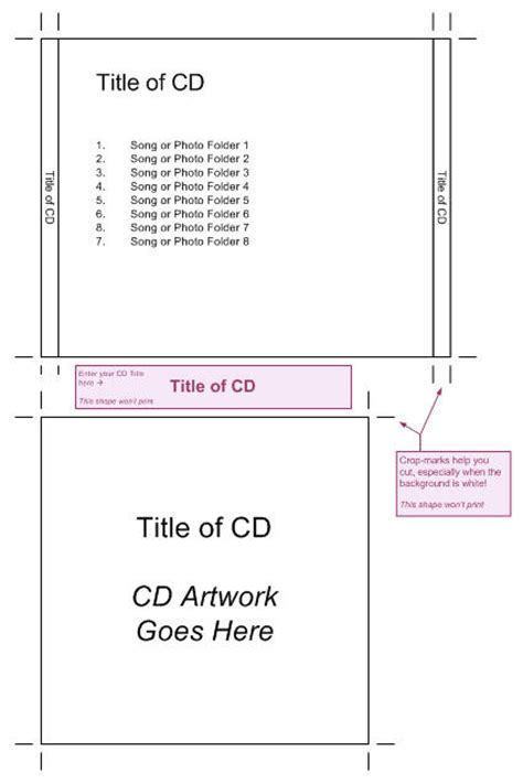 jewel case template cd insert search results calendar 2015
