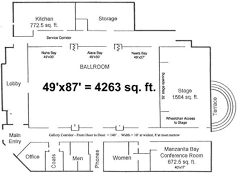 event center floor plans visit ketchikan alaska ted ferry civic center