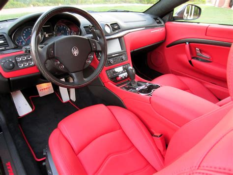maserati granturismo red interior white maserati granturismo red interior google search