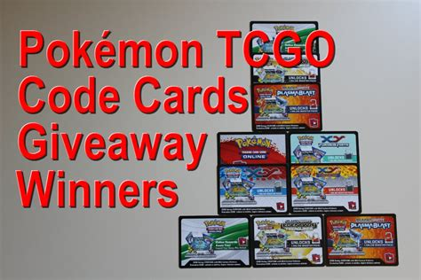 Pokemon Card Giveaway - pok 233 mon tcgo code cards giveaway 8 12 15 winners youtube