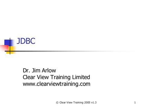 tutorial java jdbc java arlow jdbc tutorial java programming tutorials