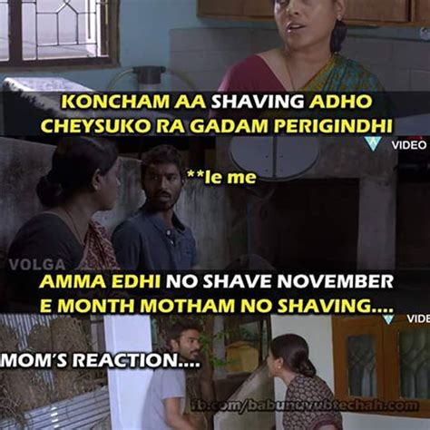 11 telugu memes about no shave november that will make