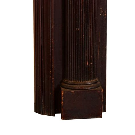 Ori Mantel antique neoclassical fireplace mantel with carved