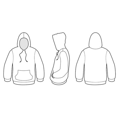 hoodie template the gallery for gt hoodie template front and back