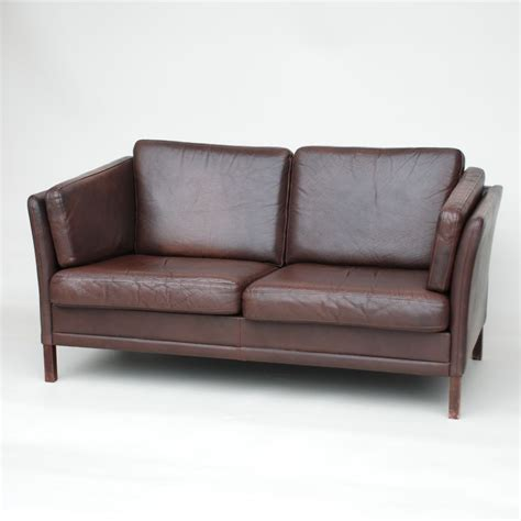 small brown leather sofa small danish dark brown leather sofa seating apollo