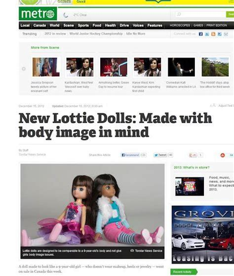 lottie dolls in canada new dolls with image in mind go on sale in canada