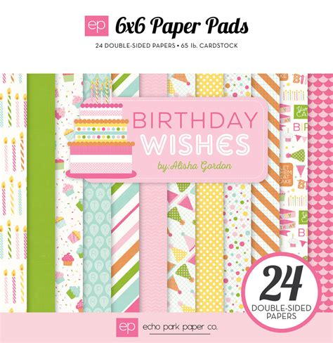 Paper L Ideas - collections echo park paper co birthday