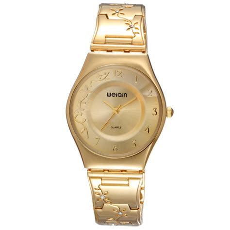 Weiqin Fashion Water Resistant 30m W4824 Gold weiqin fashion water resistant 30m w4824