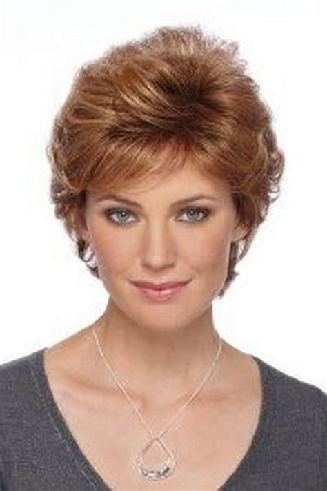 feathered brush back hair short feathered hairstyles for women