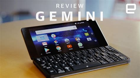 gemini pda review we ve come a way since keyboards aivanet
