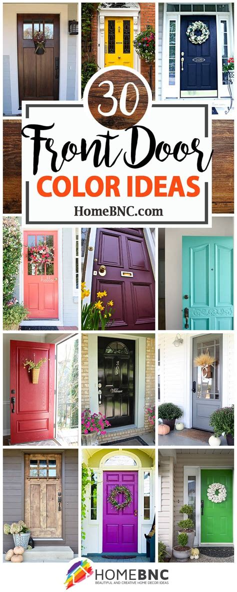 front door color ideas  designs