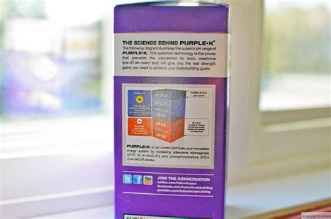 purple k creatine vs monohydrate purple k reviews fusion