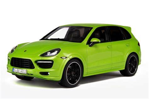 Porsche Cayenne Gts Green by Gt Spirit Porsche Cayenne Gts Green Gt020 In 1 18