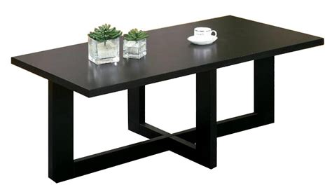 Cheap Designer Coffee Tables 2pcs Wooden Black Wooden Cheap Modern Coffee And End Tables Wd 4043 4044 Mighty Taiwan