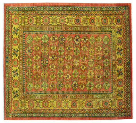 High Quality Area Rugs High Quality Kazak 100 Wool Overdyed Knotted Rug Sh15165 Transitional Area