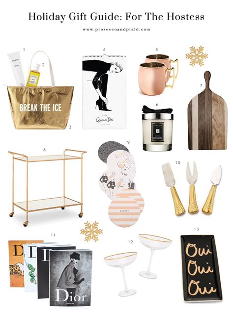 home design gifts gift guide for the hostess
