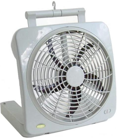Battery Operated Fan With Ac And Car Adapter For Hurricane