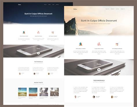 html5 site template 60 free responsive html5 css3 website templates