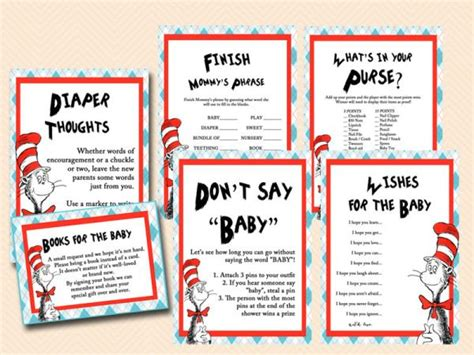 Cat In The Hat Baby Shower Ideas by Best 25 Dr Seuss Baby Shower Ideas On Dr