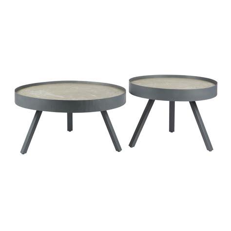 ronde salontafel beton ronde bijzettafel betonlook klein i d wonen