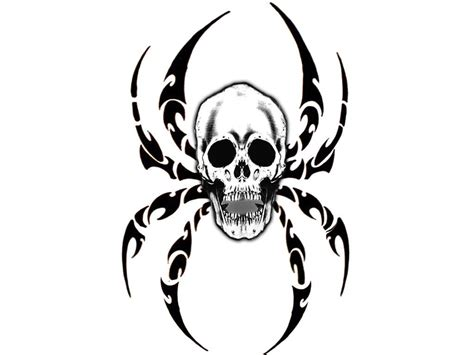 spider tattoo designs free easy skull coloring pages for fitfru style