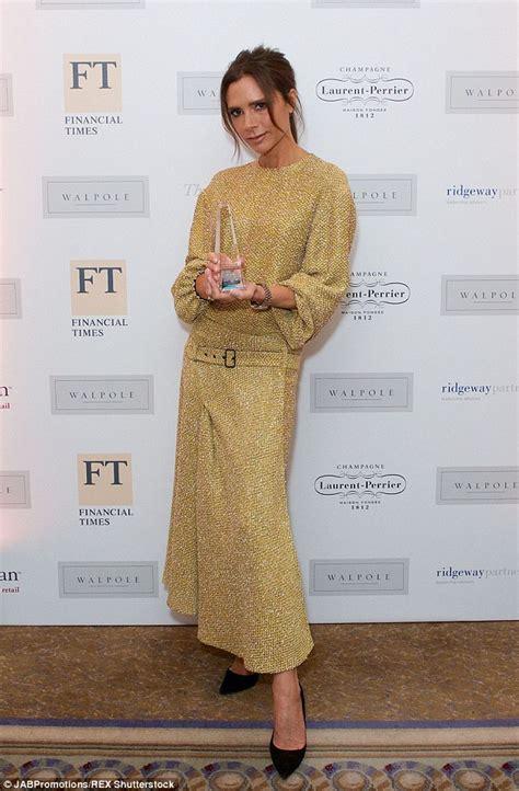 fashion design competition uk 2015 victoria beckham highlights her slender figure in