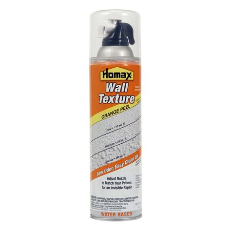 Homax Orange Peel Spray Wall Texture Material 20 Oz Quot New Popcorn Ceiling Spray Paint