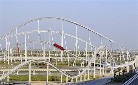Ferrari Rollercoaster Abu Dhabi by Ferrari World Abu Dhabi World S Largest Indoor Theme Park