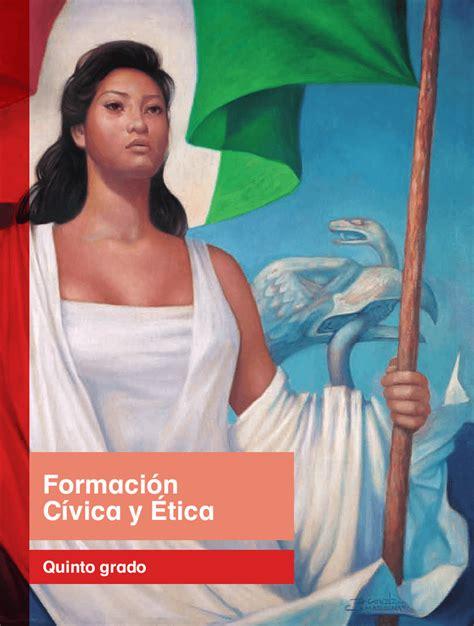 libro de la sep de formacion civica y etica de 5 grado lecciones del quinto grado de primaria