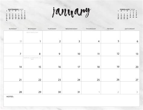 printable calendar 2018 black and white download your free 2018 printable calendars today there