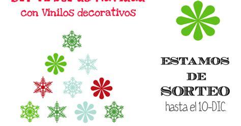 decorar con vinilos sorteo teleadhesivo la decoraci 243 n de mis mesas diy arbol de navidad con